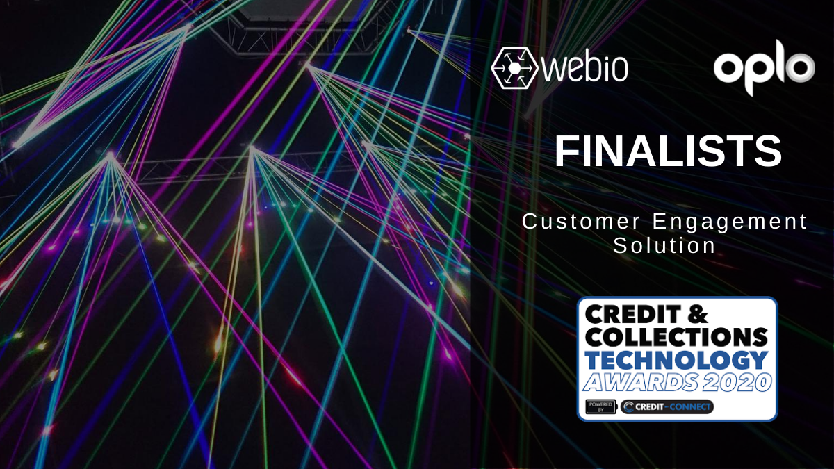 Oplo and Webio are Finalists at Credit & Collections Technology Awards