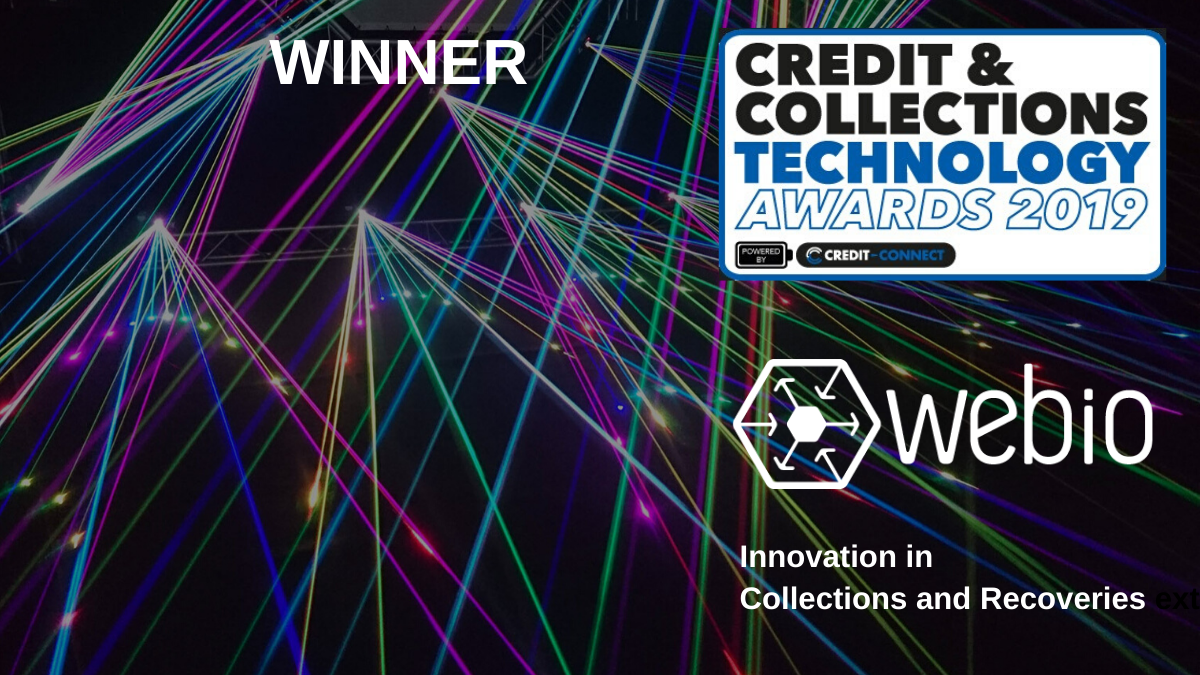 Webio Tops the Leaders in Innovation Category at the Credit and Collections Awards 2019