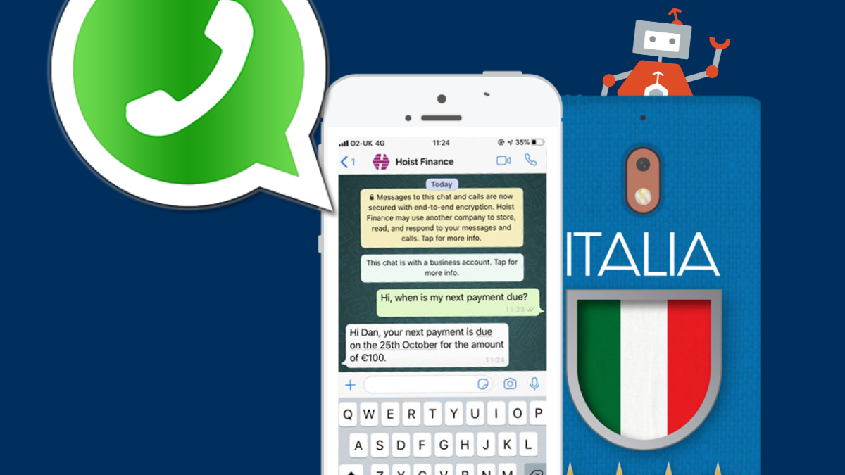 Hoist Finance Launches WhatsApp Business in Italy with Webio