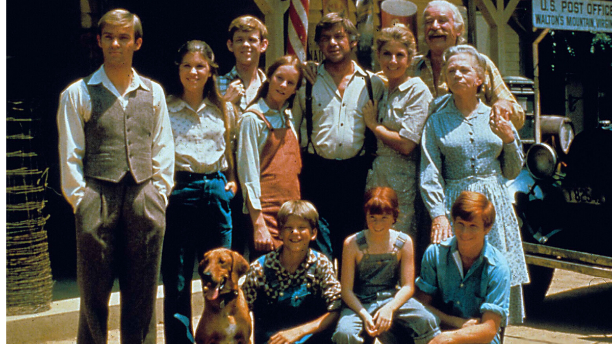 Walton family from 1970s US tv programme