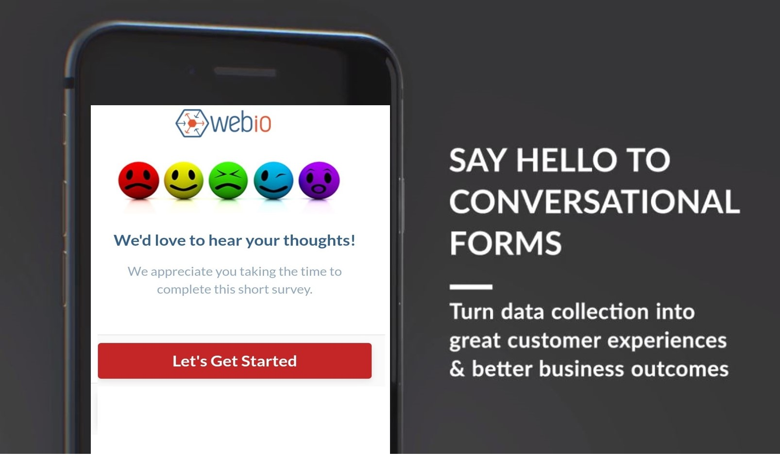 Webio Launches Customer Conversational Forms for the Enterprise
