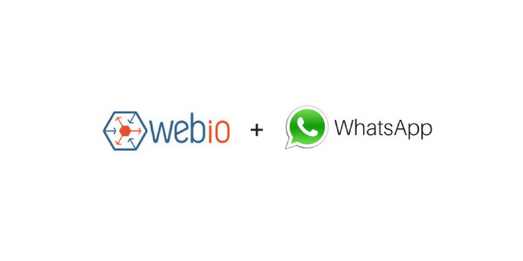 WhatsApp is Here and Webio is Ready !