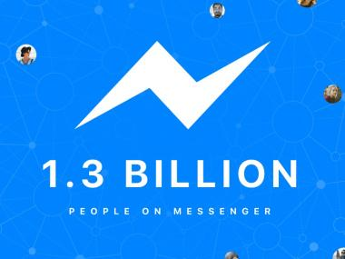 1.3 Billion People Are Now Using Facebook Messenger Every Month
