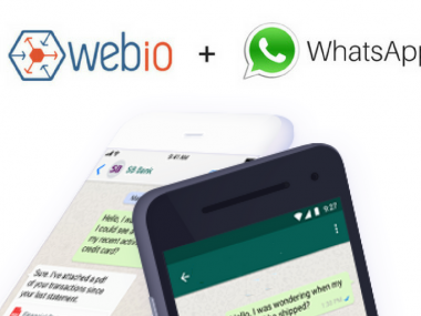 Introducing WhatsApp for Customer Engagement  |  Webio News